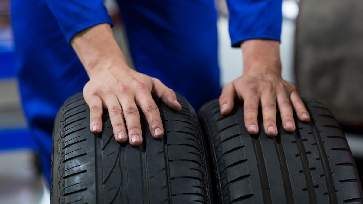 check tyre thread wear regularly itia
