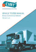 CVRT Vehicle Tester Manual HCV