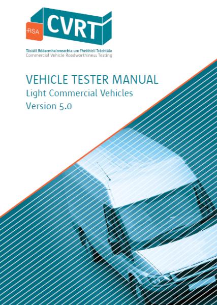 CVRT Vehicle Tester MAnual LCV